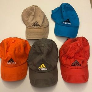 adidas One Size Fits All Hat LOT Excellent Cond!
